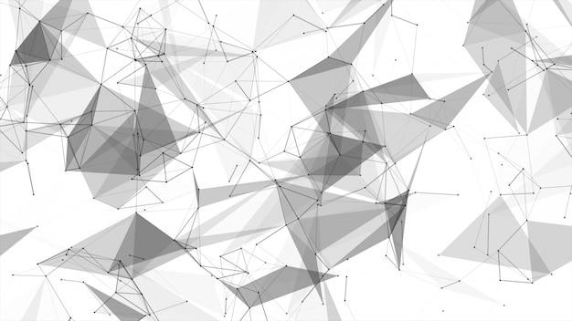 Linha abstrata do conectado