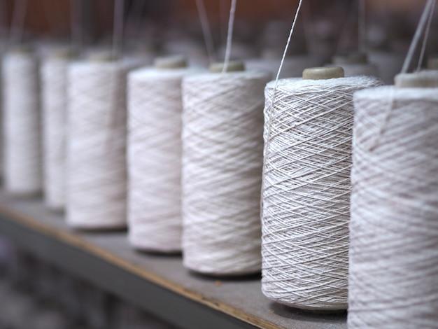Linha de indústria de fios têxteis