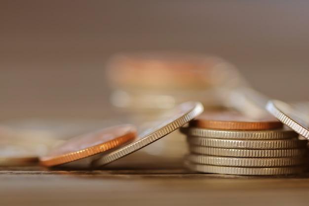 Linha de moedas