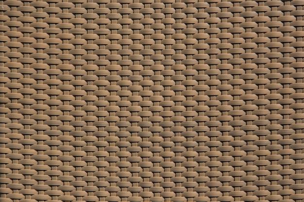 Linha de padrão de plástico rattan para textura de móveis