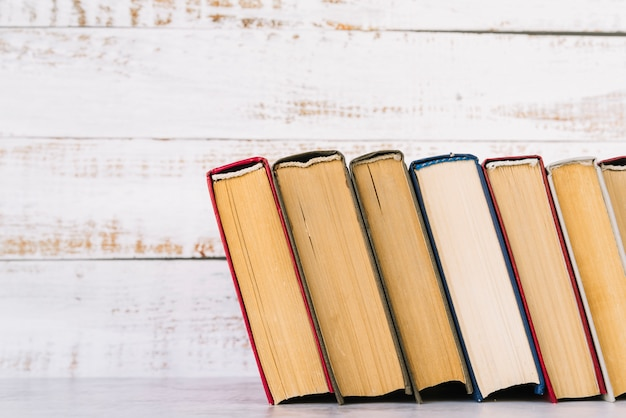 Linha do livro vista frontal