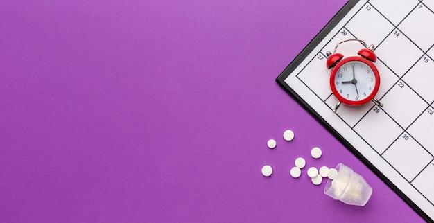 Linha do tempo e pílulas