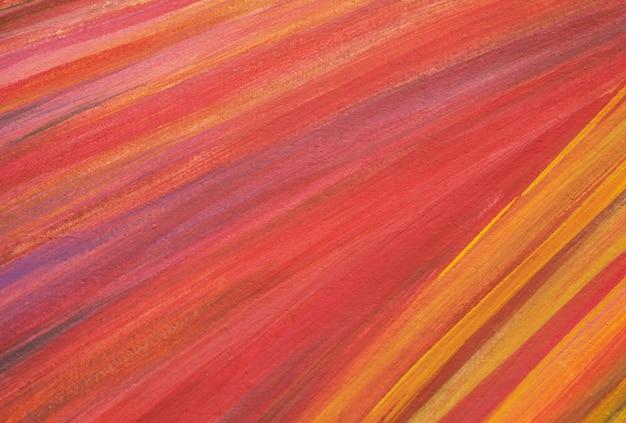 Linhas coloridas que pintam o fundo abstrato com textura.