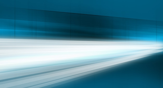 Linhas de dados em movimento rápido através de espaços abstraem base