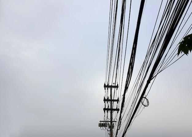 Linhas de distribuição de energia elétrica de 22kv