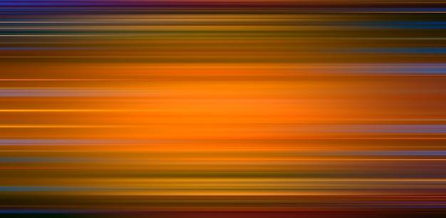 Linhas de faixa laranja horizontais. abstrato.