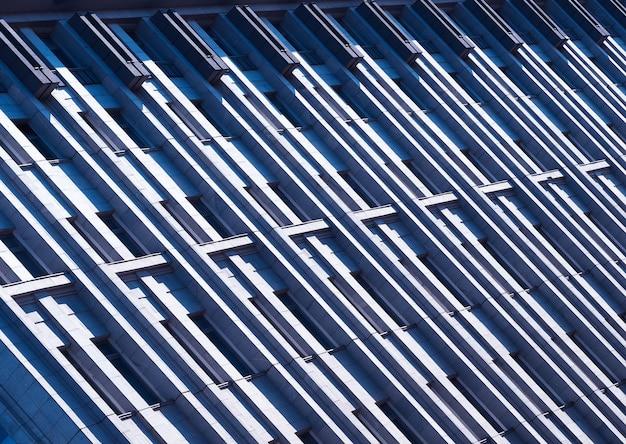 Linhas diagonais de fundo de construção minimalista