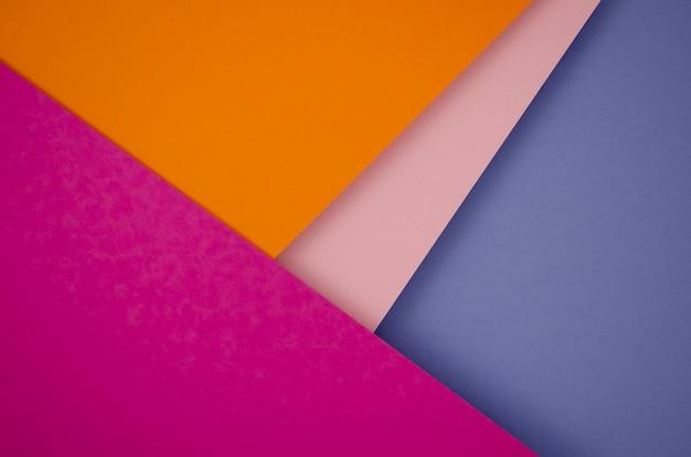 Linhas e formas geométricas mínimas coloridas