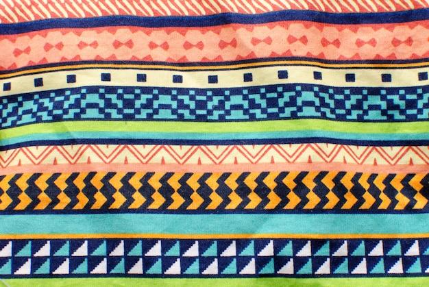Linhas gráficas de padrão de tecido