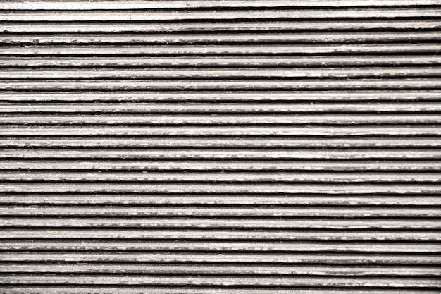 Linhas horizontais de fundo metálico