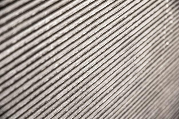 Linhas oblíquas de fundo metálico
