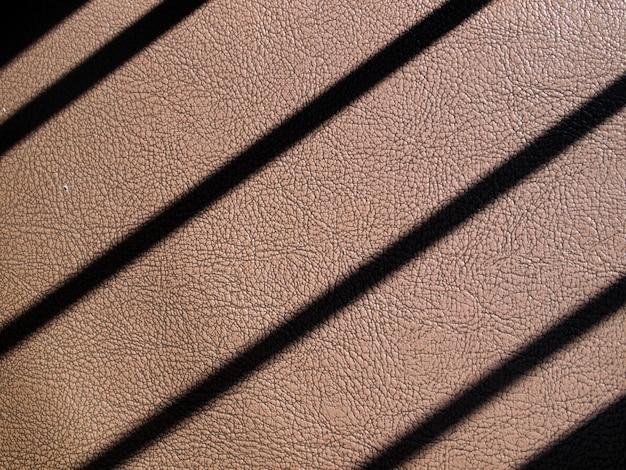 Linhas padronizadas de plástico.