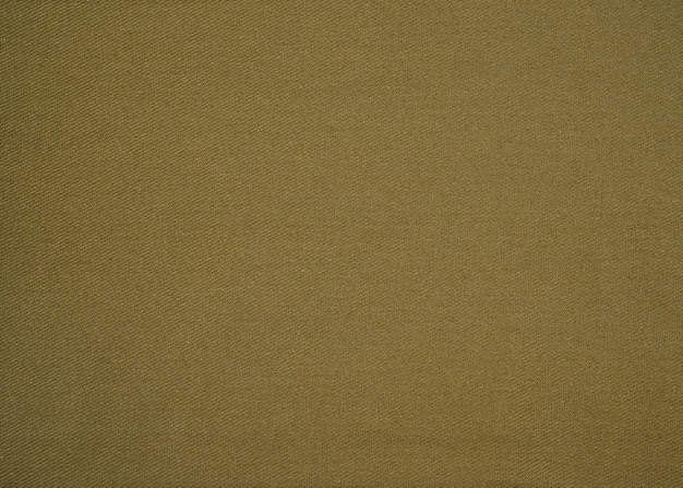 Linho orgânico natural verde, tecido texturizado com mistura de linho e algodão close-up