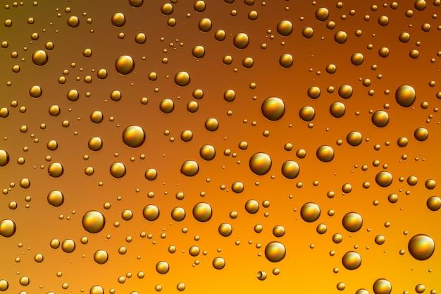 Líquido com bolhas