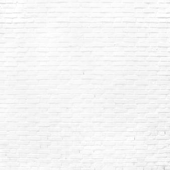 Lisa parede de tijolo branca