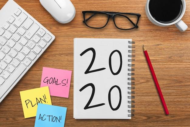 Lista de resolução de ano novo para 2020