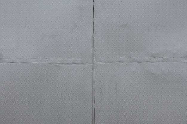 Lista negra de alumínio com formas de losango