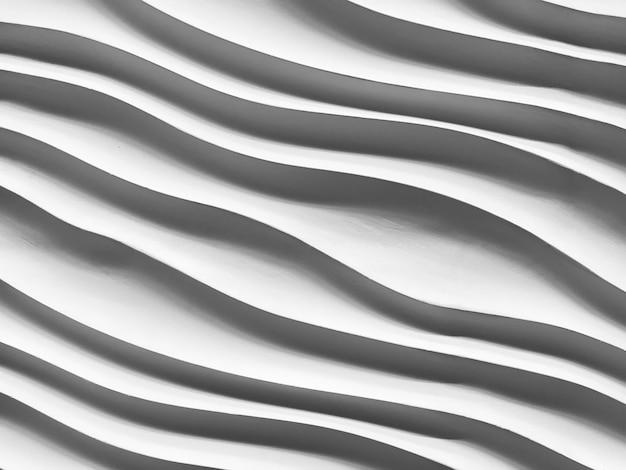 Listrado abstrato da textura de pedra, escultura da curva. close-up, de, pretas, formas geométricas, linha