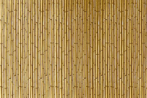 Listras de bambu dourado com textura