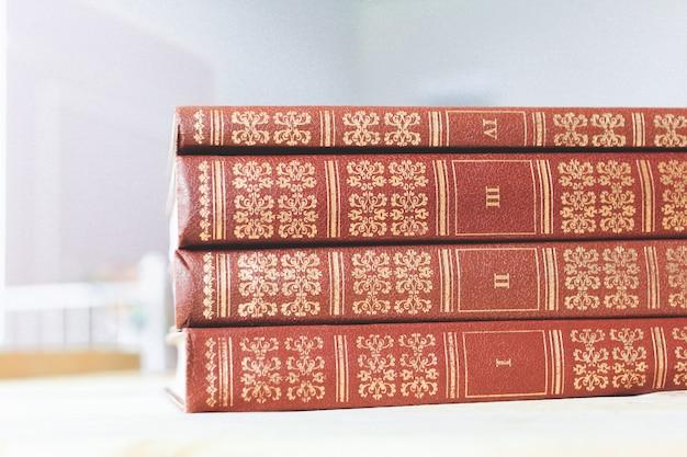 Livro antigo close-up