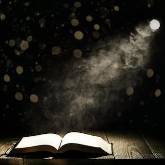Livro contra a luz da noite