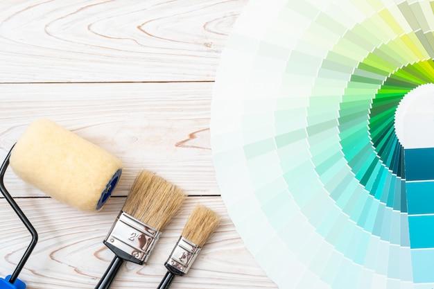 Livro de amostras de cores