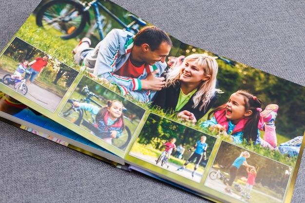 Livro de fotos infantil, férias de verão