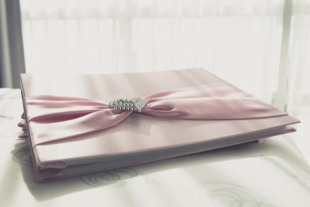 Livro de visitas do casamento