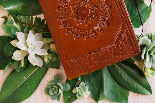 Livro em flores