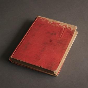 Livro vintage vermelho