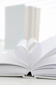 Livros, close up