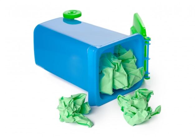 Lixeira de reciclagem
