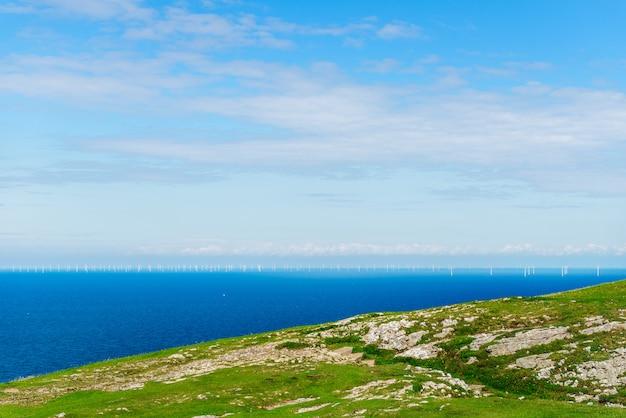 Llandudno sea front em north wales, reino unido