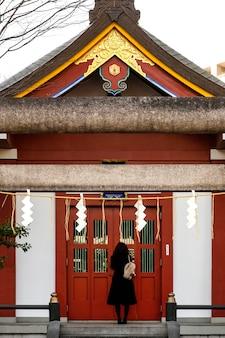 Local de atração turística asiática