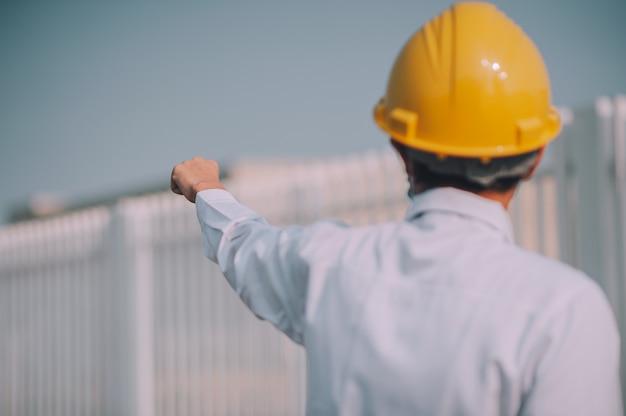 Local de construção do projeto de controle de capacete de supervisor