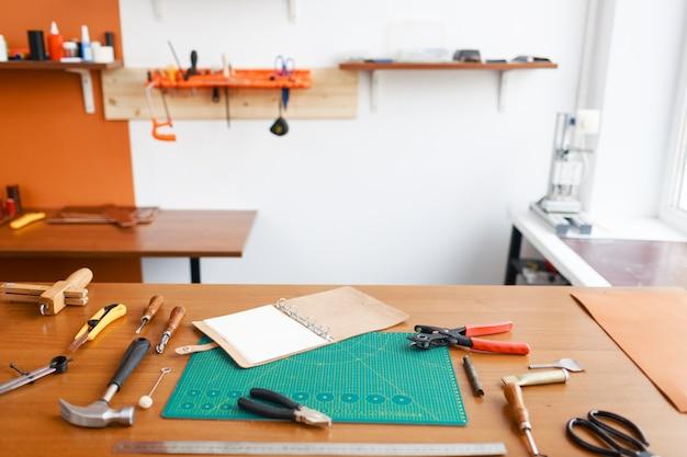 Local de trabalho do artesão