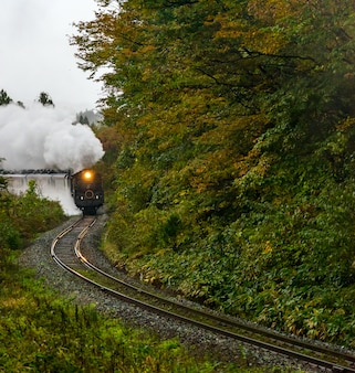 Locomotiva a vapor fukushima japão