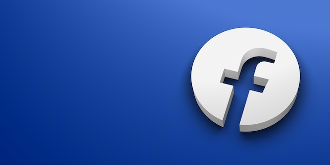Logotipo branco da mídia social