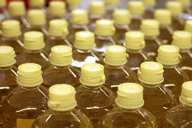 Loja de armazém de fábrica de óleo de semente de girassol