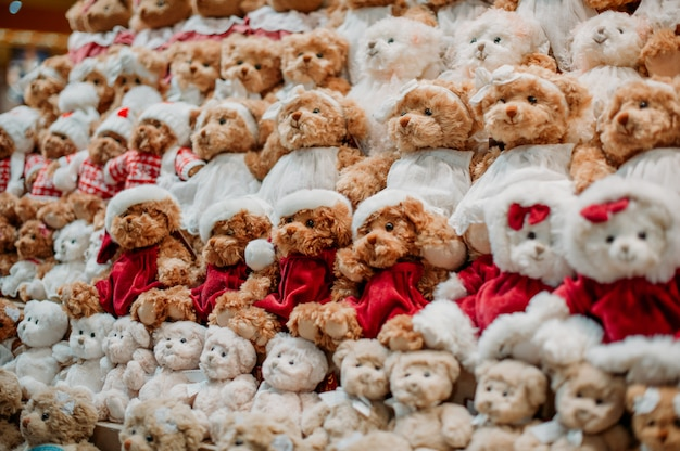 Loja de brinquedos de natal