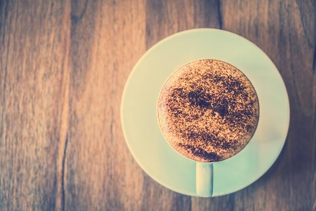 Loja de decoração bebida café espresso