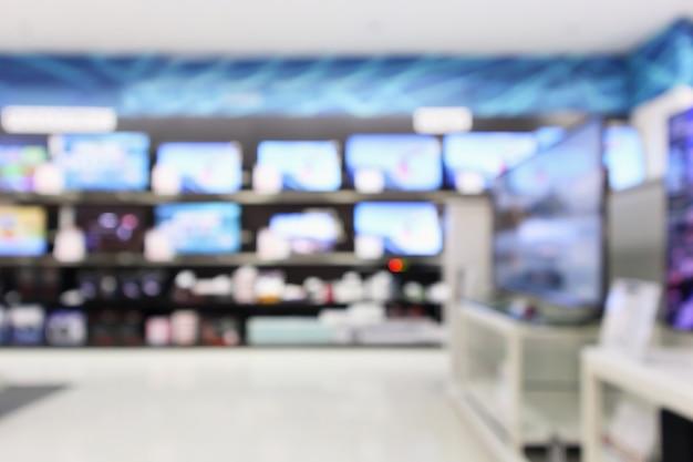 Loja de departamentos eletrônicos