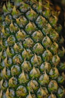 Loja de frutas de abacaxi