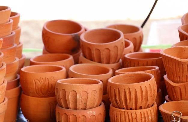 Loja de plantas de flores em vasos