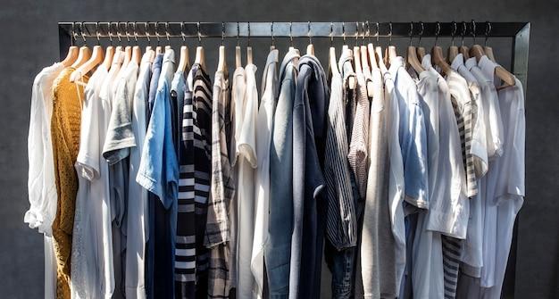 Loja de roupas da moda