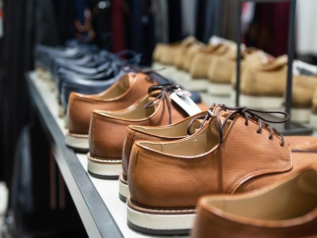 Loja de sapatos masculinos
