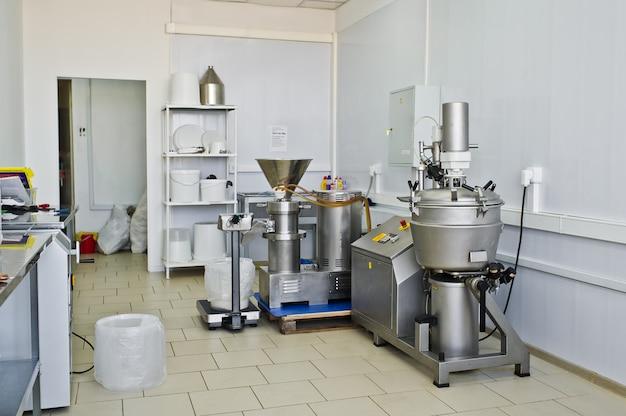 Loja industrial de produção de alimentos