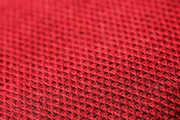 Lona de tecido vermelho