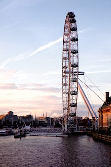 London eye da ponte de westminster