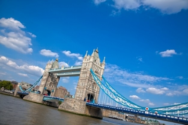 London tower bridge hdr
